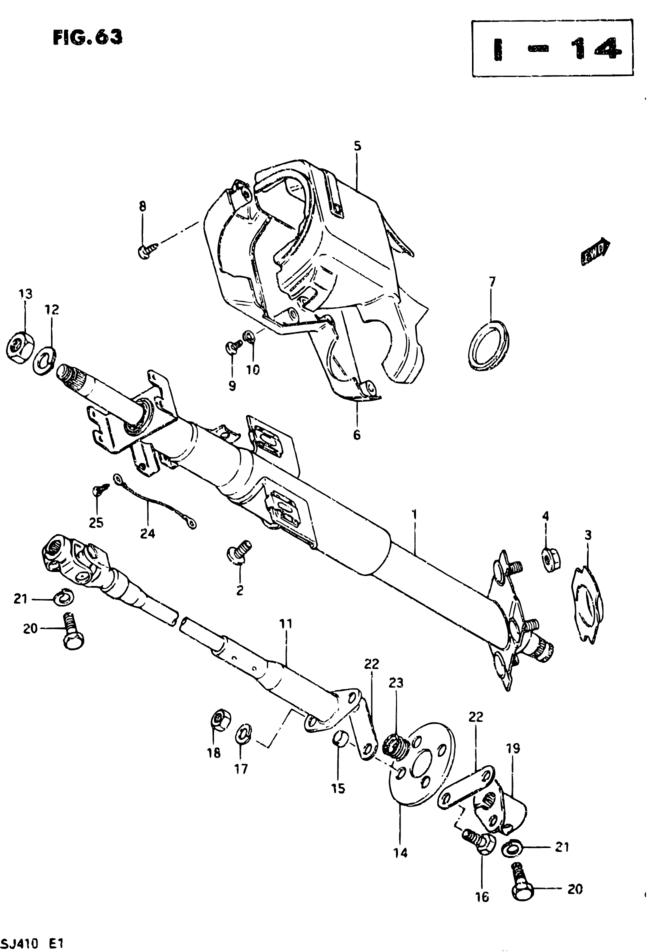 Sj Sj410q E01 Steering 63