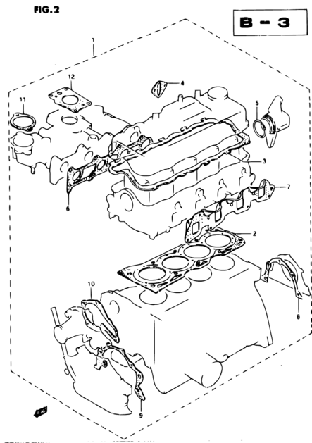 V12 Engine Cutaway