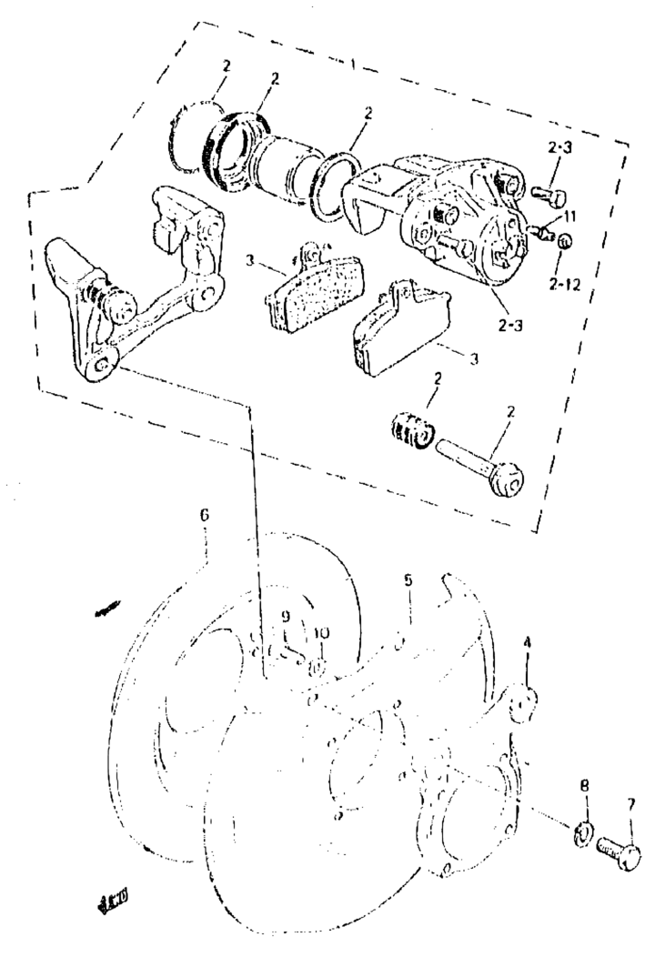 Sj Sj413 Santana E22 Brake 59