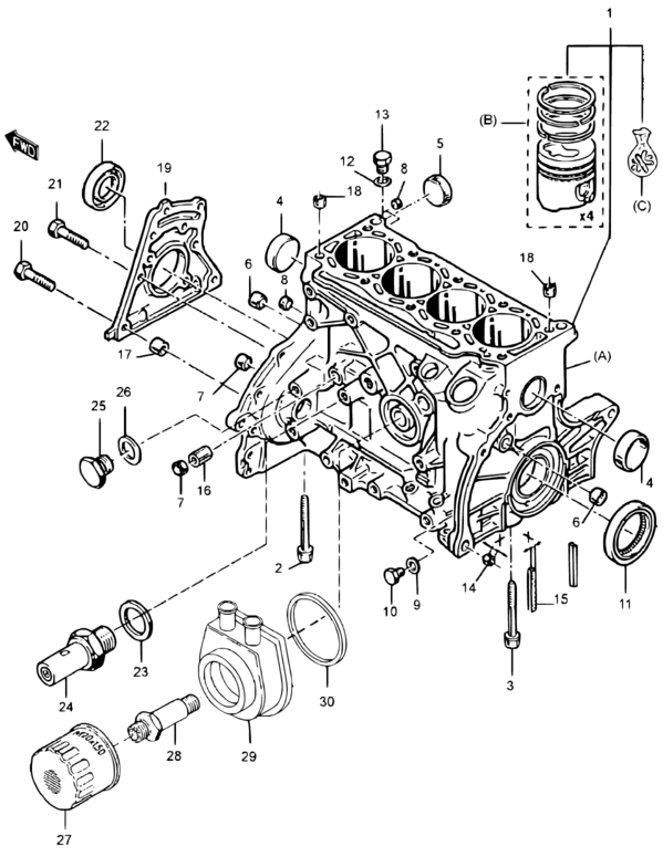 Europe Samurai Sj Sj419 My99 Santana Engine 9a