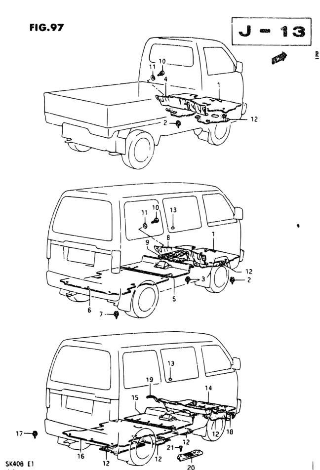 Europe Carry Supercarry Every Sk408 Interior Trim 97