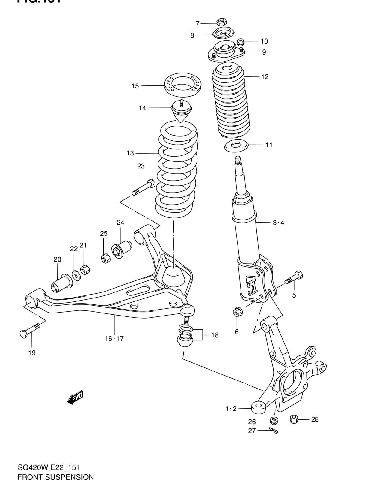 Lexus Lx470 Suspension Diagram Electrical Wiring Diagrams 1999 Parts Schematic Suzuki Vitara Front Block