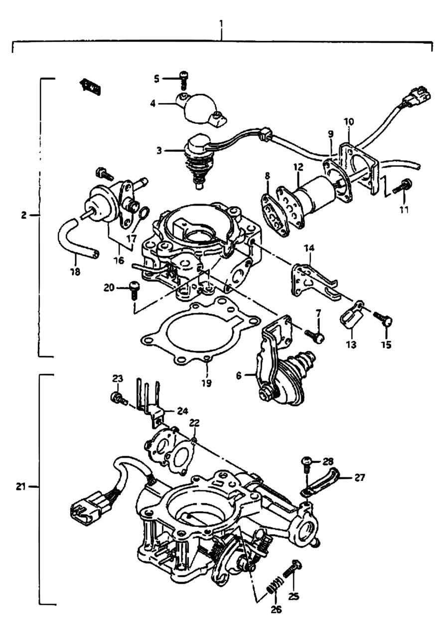 All Regions Vitara Sidekick Se416 E28my 1990 Engine 16 Suzuki Parts
