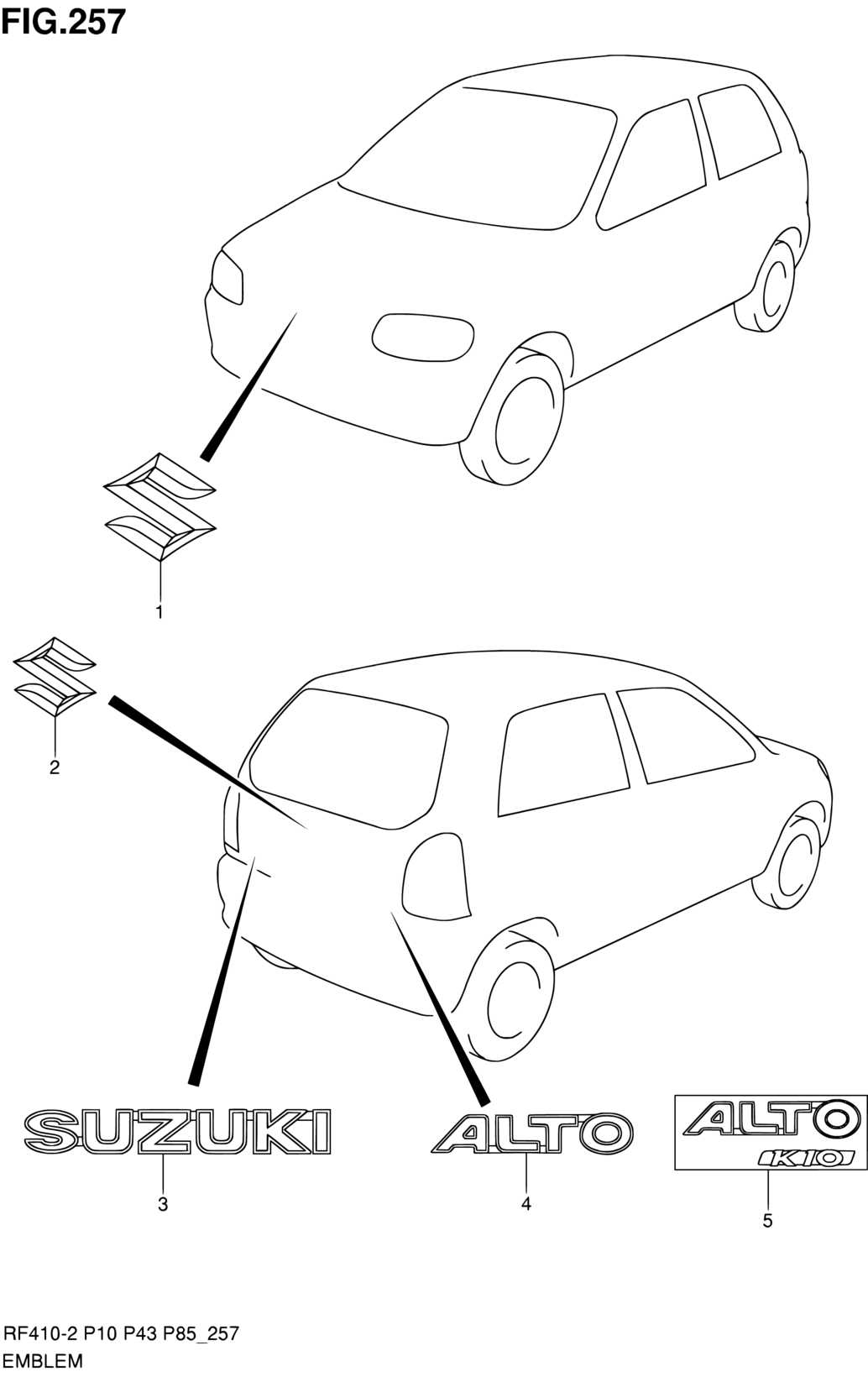 suzuki alto wiring diagram database Maruti Alto K10 africa alto a star celerio 800 rf308 2 body 257 suzuki alto 2013 code part number