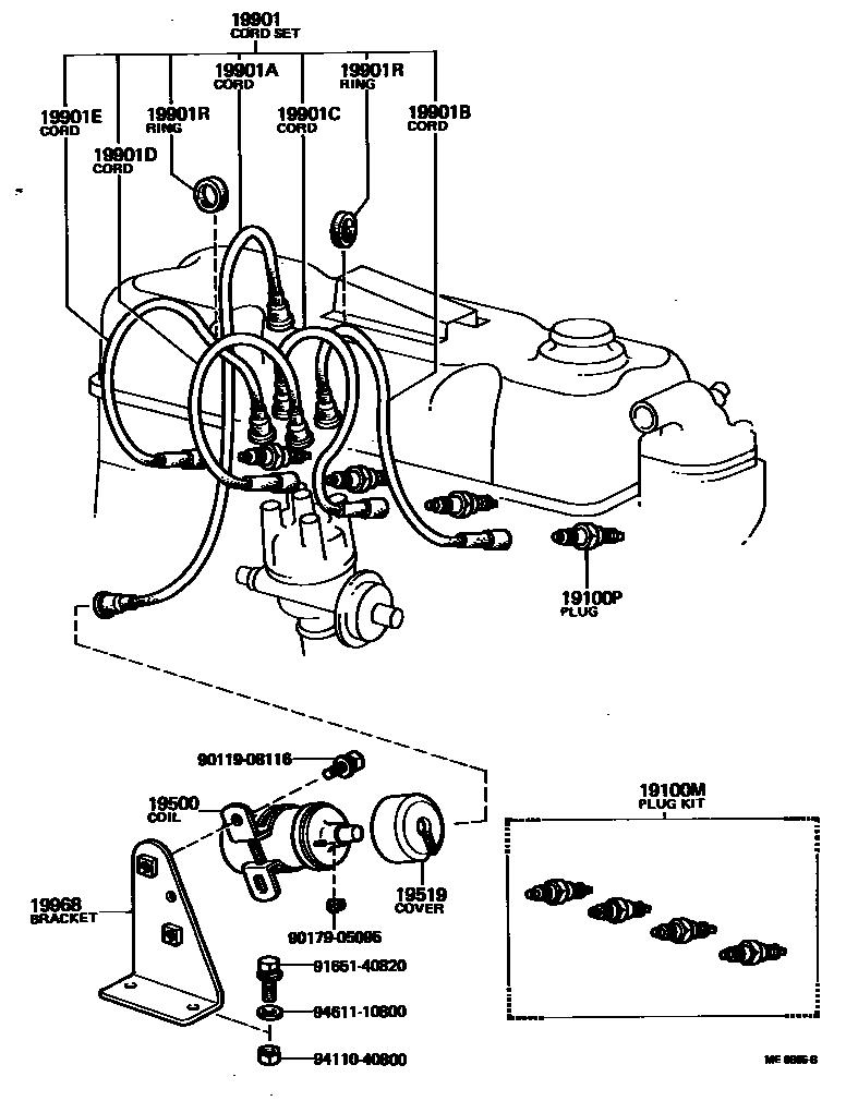 Europe Dyna 752220 Ru30l Mrpt 19 01 Ignition Coil Spark Plug